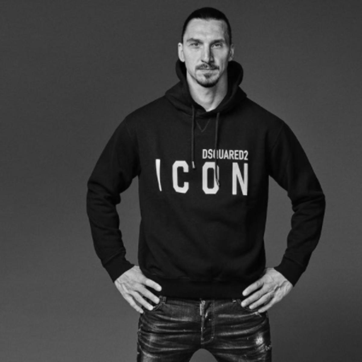 Ibrahimovic anche stilista: lancia la sua linea con Dsquared