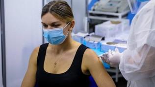 """Simona Halep si è vaccinata: """"Sto bene, mi sento più al sicuro"""""""