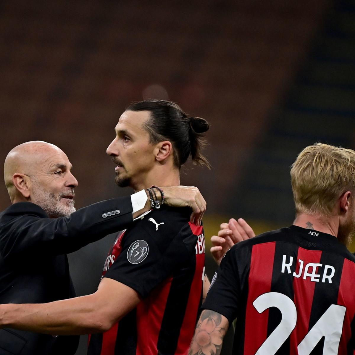 """Ibrahimovic: """"Ho Zlatanizzato Pioli, siamo dove siamo grazie a lui"""""""