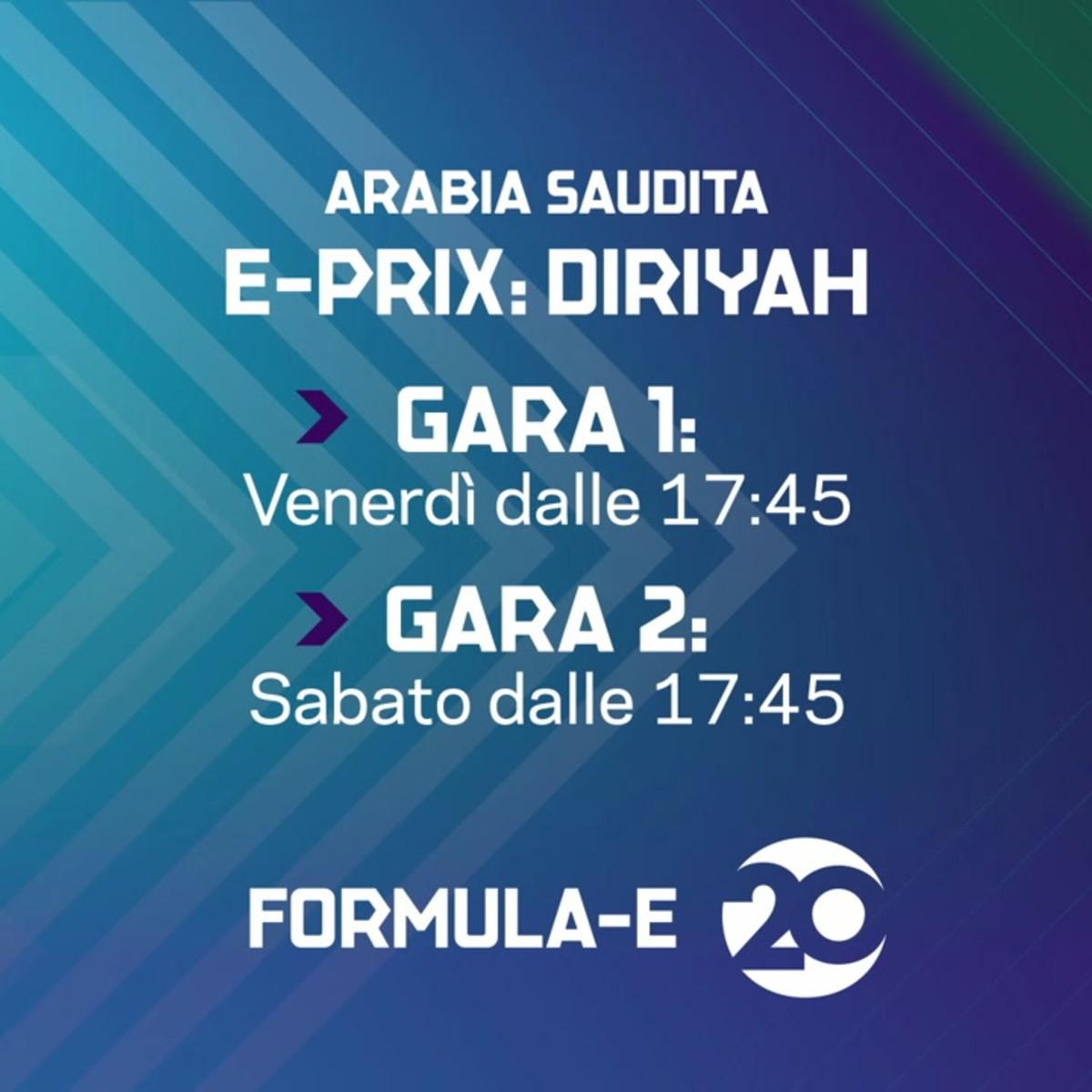 Il campionato di Formula E riparte sul 20!