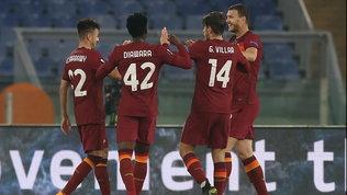 Tutto facile per la Roma: Dzeko, Perez e Mayoral affondano il Braga