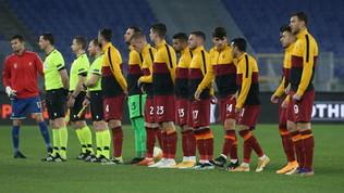 Roma-Braga, le foto del match