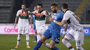 Empoli e Venezia si bloccano sull'1-1, Reggiana e Salernitana a bocca asciutta
