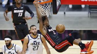 Miami stende Uath e mette la quinta, si rialzano Lakers e Clippers
