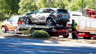 Golf, incidente d'auto per Tiger Woods