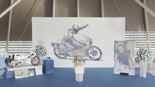 Motomondiale, l'ultimo saluto a Fausto Gresini