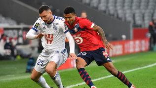 Doppio 1-1 per Lille e Lione, il PSG è secondo a -2