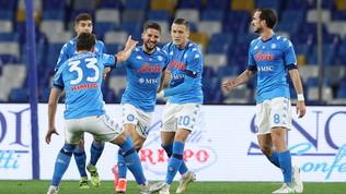 Mertens, ritorno con gol: il Napoli si rialza e aggancia la Lazio