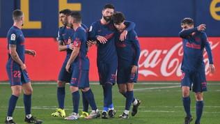Nuova mini-fuga Atletico Madrid, battuto il Villarreal in trasferta