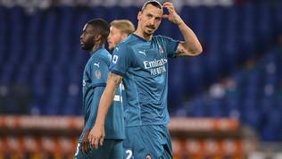 Milan, vittoria coi cerotti:Ibra, Calhae Rebic fuori per infortunio