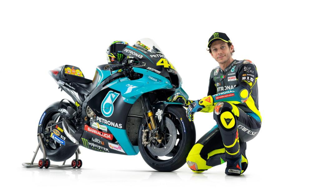 Ecco la nuova livrea della Yamaha di Valentino Rossi e Franco Morbidelli.<br /><br />