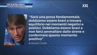 Inter, sfida al Genoa