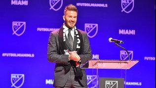 """Il sogno ambizioso di Beckham: """"Voglio portare Messi e Ronaldo a Miami"""""""