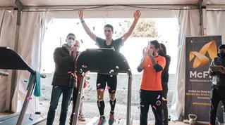 Il pavese Stefano Emma firma il record mondiale delle 50 miglia su tapis