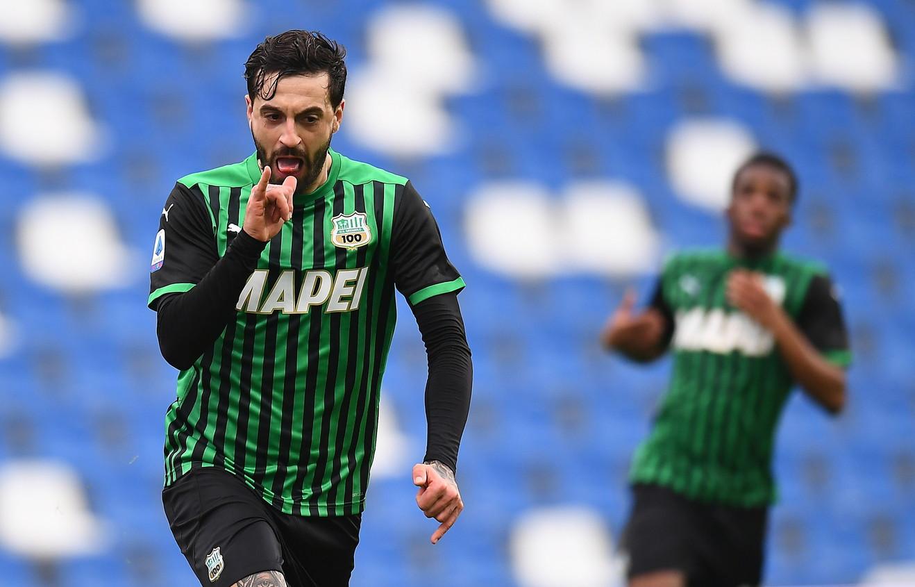 8) Caputo (Sassuolo): ha partecipato a 15 gol, 10 gol e 5 assist