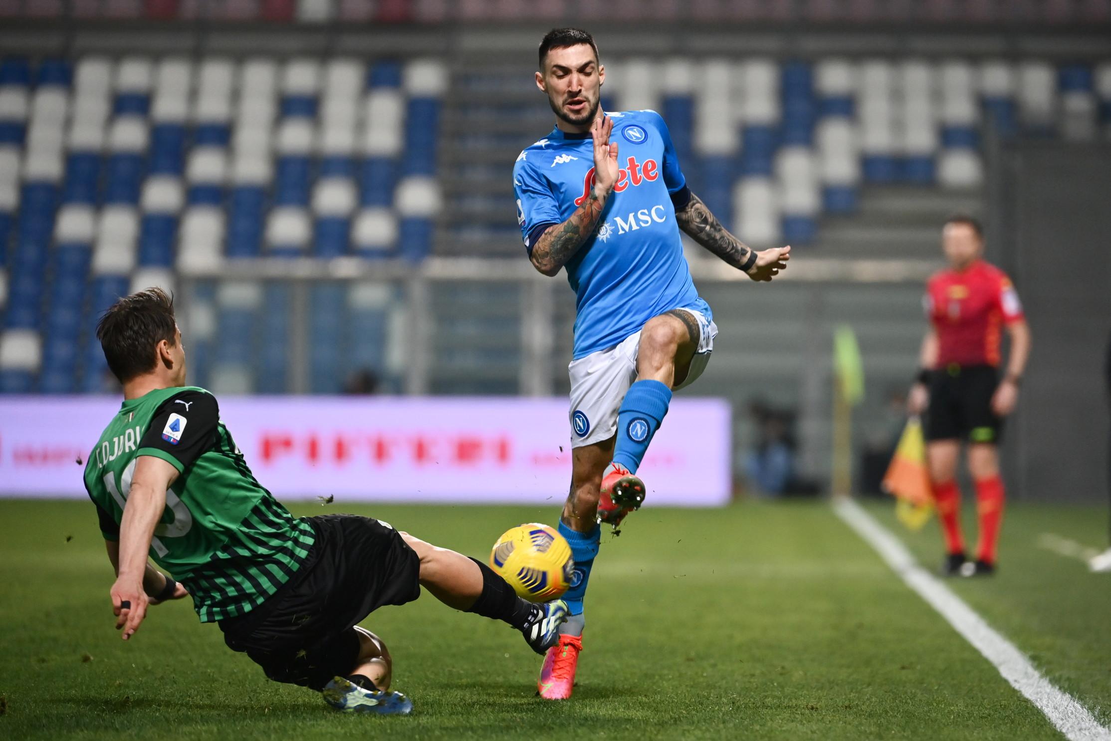 Serie A, Sassuolo-Napoli 3-3: Caputo frena Gattuso in extremis | News -  Sportmediaset