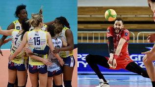 Champions League: Conegliano e Novara in semifinale, delusione Civitanova