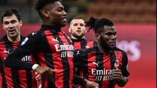 Kessie salva il Milan: pari con l'Udinese