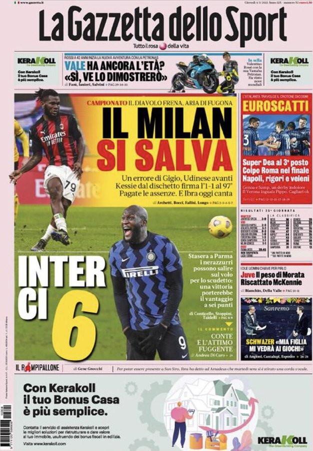 La rassegna stampa dei quotidiani italiani e stranieri<br /><br />
