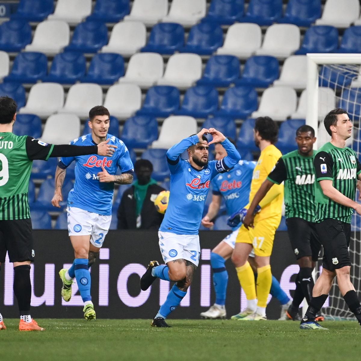 Il Napoli crea e distrugge: con il Sassuolo il riassunto della stagione