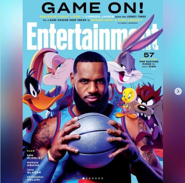 &ldquo;Non siete pronti per questa squadra&rdquo;. LeBron James torna sul grande schermo (dopo il film Treinwreck del 2015) e pubblica sul proprio profilo Instagram le prime immagini di &ldquo;Space Jam - A New Legacy&rdquo; anticipate in esclusiva dal settimanale Entertainment Weekly. La star dei Lakers sar&agrave; il protagonista, sulle orme di Michael Jordan, della pellicola con Bugs Bunny e gli altri eroi dei Looney Tunes che &egrave; in uscita il 16 luglio. Ma non sar&agrave; un sequel ha pi&ugrave; volte ripetuto LeBron, che spera di diventare una vera e propria icona globale come accaduto all&rsquo;ex numero 23 dei Bulls.<br /><br />