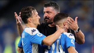 """Tensione Napoli: Gattuso allontana Mario Rui. L'agente: """"Nessuna lite"""""""