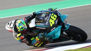 """Qatar, Rossi """"debuttante"""" di lusso in Petronas"""