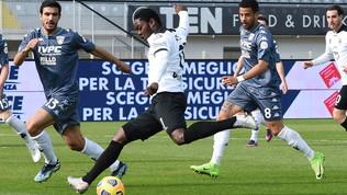 Spezia-Benevento: le foto del match