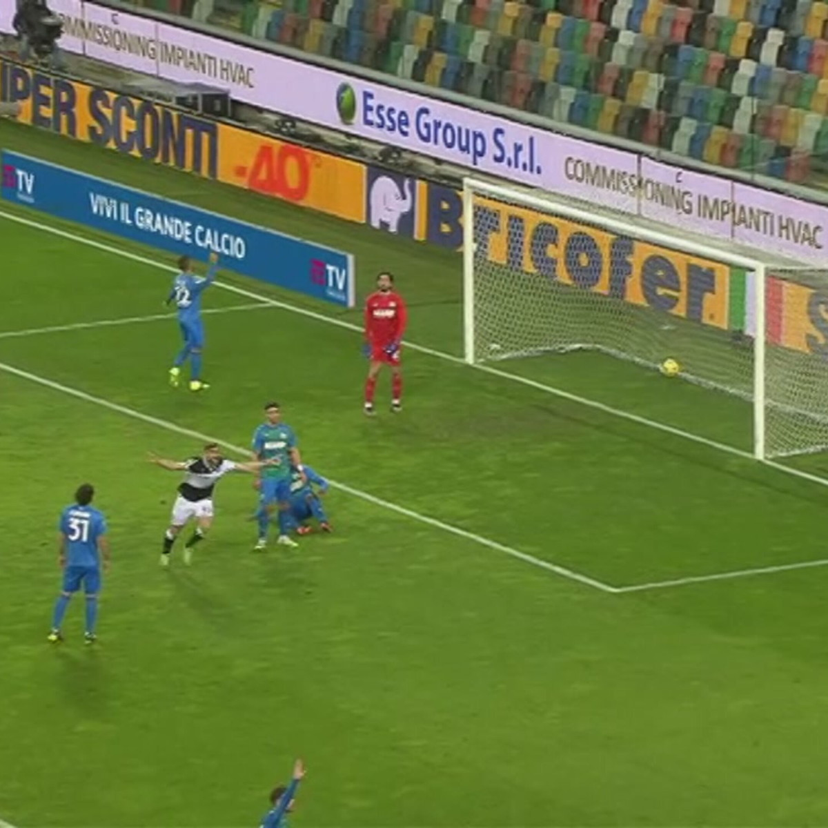 Udinese-Sassuolo 2-0: gli highlights