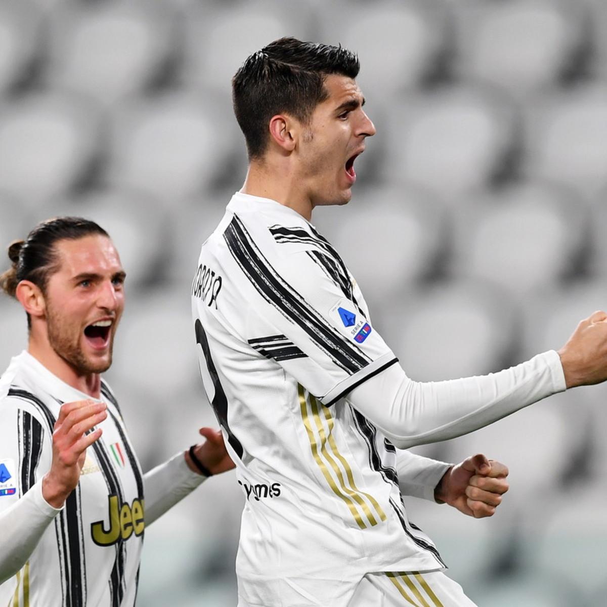 Rabiot e Morata ribaltano la Lazio: la Juve c'è, Porto avvisato