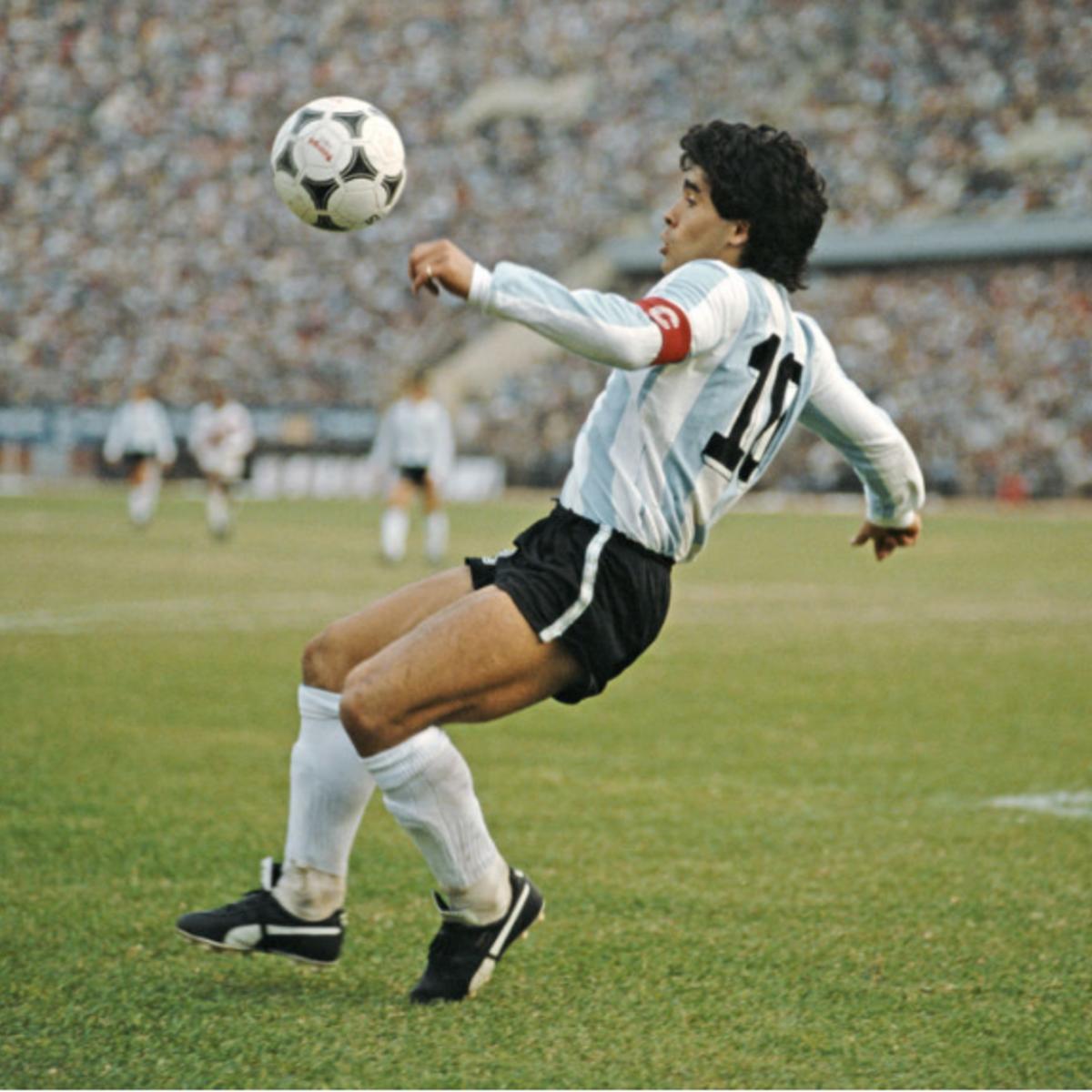 Maradona e l'Olanda si sono solo sfiorati