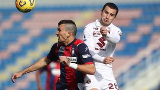 Crotone-Torino, le immagini del match
