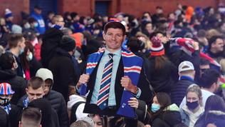 I Rangers di Gerrard di nuovo campioni, la festa violaogni norma