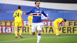 Samp-Cagliari 2-2: Nainggolan pareggia all'ultimo respiro