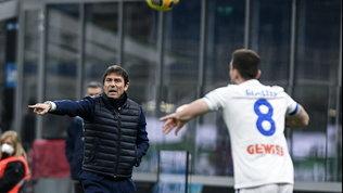 """Conte all'arbitro Mariani: """"Fate i protagonisti, ecco cosa fate..."""""""
