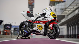 Yamaha, livrea speciale per i 60 anni nei GP