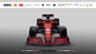 Ecco la Ferrari SF21: tutte le foto della nuova rossa