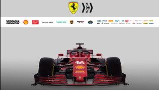 La scheda tecnica della Ferrari SF21: tutti i dati di power unit e telaio