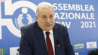 Manfredi nuovo presidente della Federazione Italiana Pallavolo