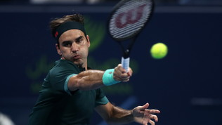 Federer, rientro vincente: a Doha fa sua la battaglia con Evans