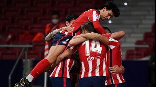 Liga, l'Atletico prova una nuova fuga: 2-1 al Bilbao e +6 sul Barcellona