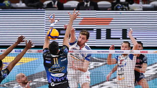 SuperLega: colpaccio Milano contro Perugia, Trento beffa Piacenza