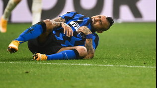 Conte perde Vidal: intervento al ginocchio, torna dopo la sosta