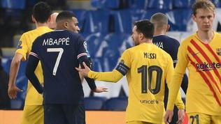 Mbappé pubblica una foto per mostrare tutto il suo rispetto per Messi
