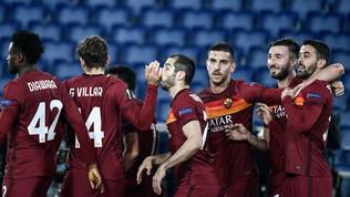 Roma, tris allo Shakhtar Donetsk