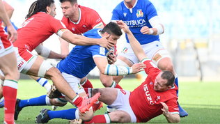 Solita sofferenza per l'Italia, il Galles passeggia 7-48 all'Olimpico