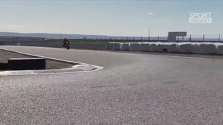 Marquez torna in sella... a una mini moto