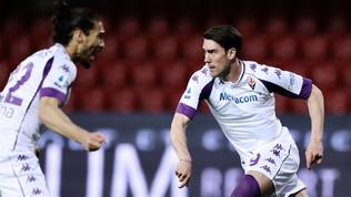 La Fiorentina vola con Vlahovic
