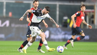 Genoa-Udinese: le foto della partita