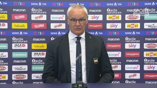 """Ranieri: """"Pareggio ci sarebbe stato stretto"""""""